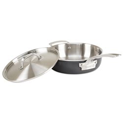 Viking Hard Stainless, 3 Qt Saute Pan