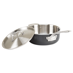 Viking Hard Stainless, 4 Qt. Saute Pan