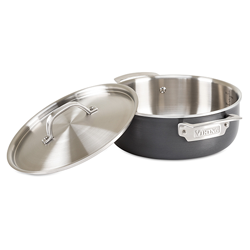 Viking Hard Stainless, 4 Qt. Everyday Pan