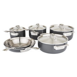 Viking Hard Stainless 10 pc Cookware Set