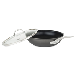 Viking Hard Anodized Nonstick 12 in, 30 cm Covered Chef's Pan