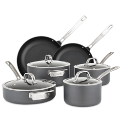 Viking Hard Anodized Nonstick 10pc Cookware Set