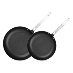 Viking Hard Anodized Nonstick 2pc Fry Pan Set (10 in and 12 in)