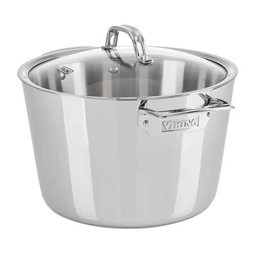Viking Contemporary 8.0 Qt, 7.5 l.,  Stock Pot, Mirror Finish
