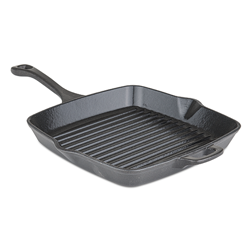 Viking Cast Iron 11 in Square Grill Pan