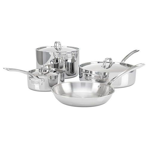 Viking 3-Ply 7 Piece Cookware Set